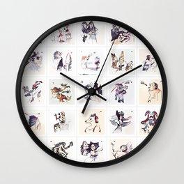 Collection 25 ~ Los Caprichos Wall Clock