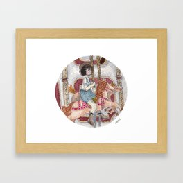 Child at Heart Framed Art Print