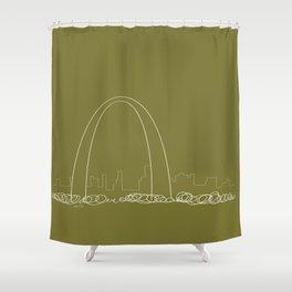 St. Louis by Friztin Shower Curtain