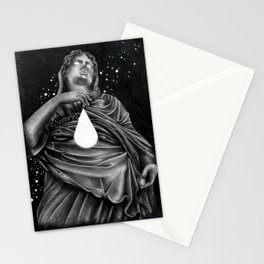 Water on Mars Stationery Cards