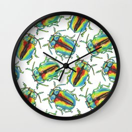 One beetle knows another Wall Clock