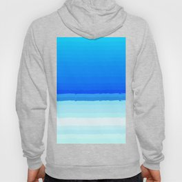 blue lines pattern shaded Hoody