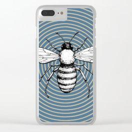 Pop Art  Bee Clear iPhone Case