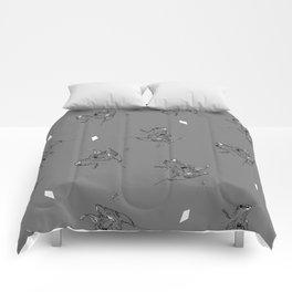 Rye Grey Pattern Comforters