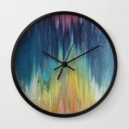 Pixel Sorting 46 Wall Clock