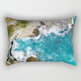 Rocky Sea Rectangular Pillow