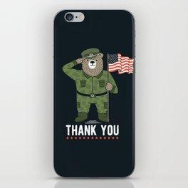 Veteran's Day iPhone Skin