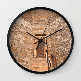 If These Prison Walls Could Talk Wall Clock