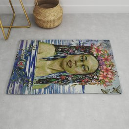 Yemaya, Goddess of the Sea Rug