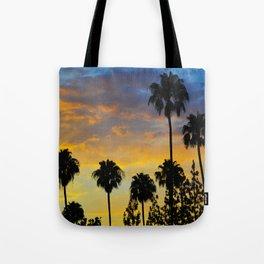 Palm Trees LA Tote Bag