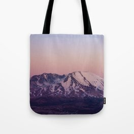 Mount Saint Helens at dusk Tote Bag