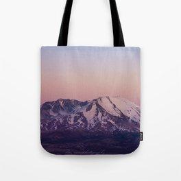 Mount Saint Helens at dusk Tote Bag