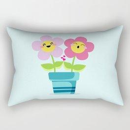 Kawaii Spring lovers Rectangular Pillow