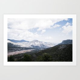 Majestic View Art Print