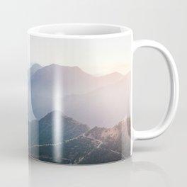 Panorama view over Sequoia National Park Coffee Mug