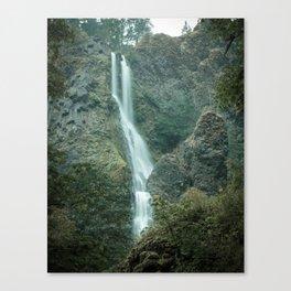Starvation Creek Falls - Columbia River Gorge, Oregon Canvas Print