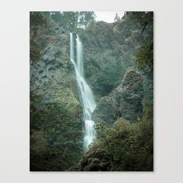 Starvation Creek Falls - Columbia River Gorge, Oregon Canvas Print