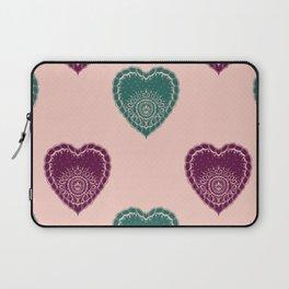 Boho Hearts Laptop Sleeve