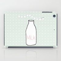 milk iPad Cases featuring Milk by BL-ij