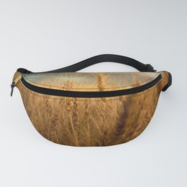 Harvest Time - Golden Wheat in Colorado Field Fanny Pack