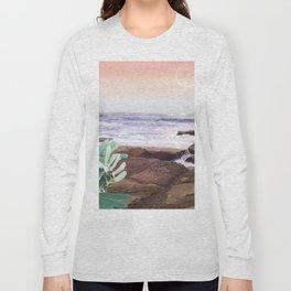 Pink Ocea Long Sleeve T-shirt