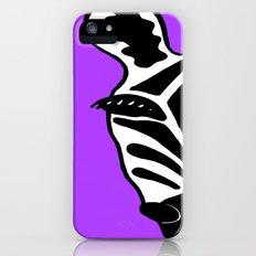 Zebra Purple Slim Case iPhone (5, 5s)