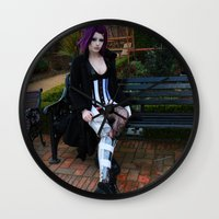 android Wall Clocks featuring Android by Toxic Tears