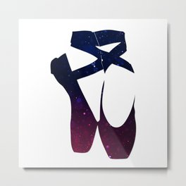 "Ballet shoes ""Bokeh"" Metal Print"