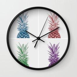 Pineapple Pop Wall Clock