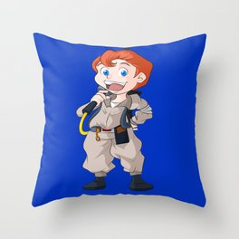 Ray Stantz (The Real Ghostbusters) Throw Pillow