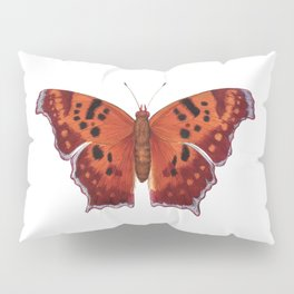 Question Mark (Polygonia interrogationis) Pillow Sham