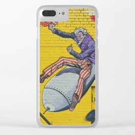 Thank God for Graffiti Clear iPhone Case