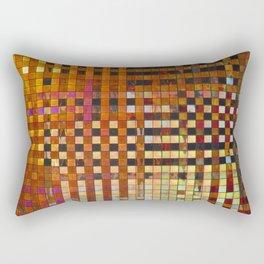 Checkered Reflections I Rectangular Pillow