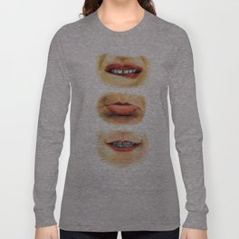 Lips with emotions Long Sleeve T-shirt