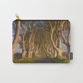 Old trees at the Dark Hedges in Northern Ireland Carry-All Pouch