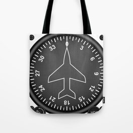 Directional Gyro Flight Instruments Tote Bag