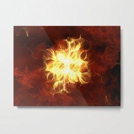 ZoooooZ - Atomic Fire Metal Print