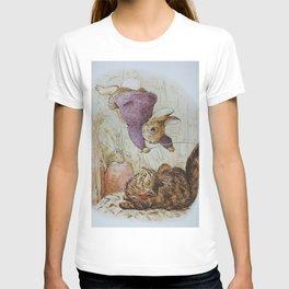 Bunny vs Kitty T-shirt