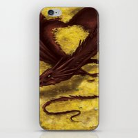 smaug iPhone & iPod Skins featuring Smaug by toibi