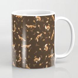 Foxes pattern Coffee Mug