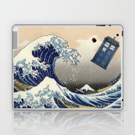 TARDIS at Kanagawa Laptop & iPad Skin