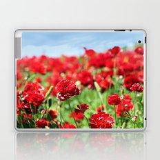 Scarlet Field Laptop & iPad Skin