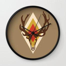 Stag Head Wall Clock