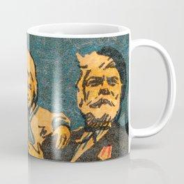 """Old Soviet Film Poster """"Bolshaya semya"""" Coffee Mug"""
