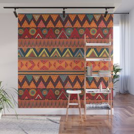 Tribal Ethnic (earth colors) Wall Mural