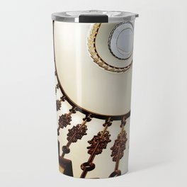 Spiral staircase in warm colours Travel Mug