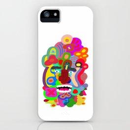 Acid Face iPhone Case