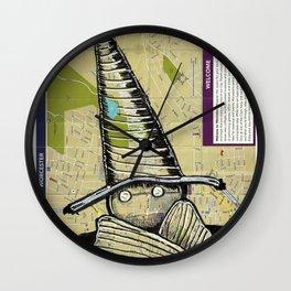 Worcester, Massachusetts Wall Clock