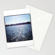 Sparkle Water Color Photography Stationery Cards