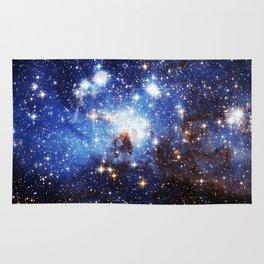 Blue Galaxy Rug